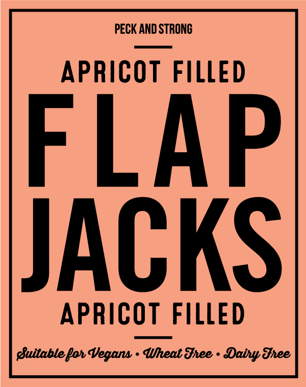 Apricot Filled Flapjacks