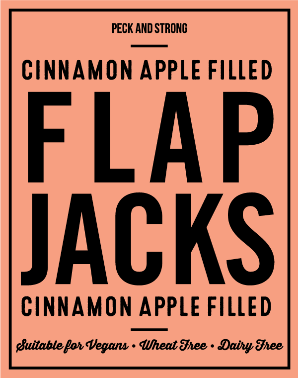 Cinnamon Apple Filled Flapjacks