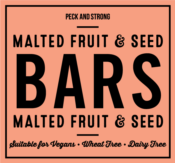 Malted Fruit & Seed Bars