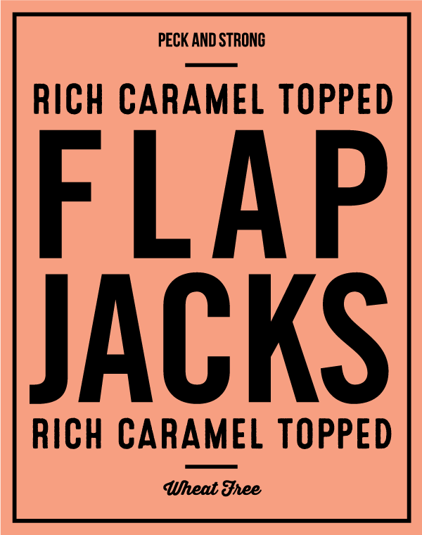 Rich Caramel Topped Flapjacks