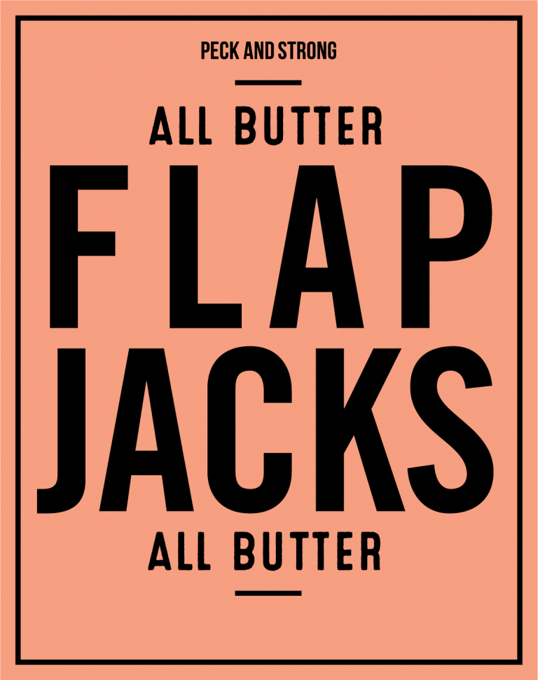 All Butter Flapjacks