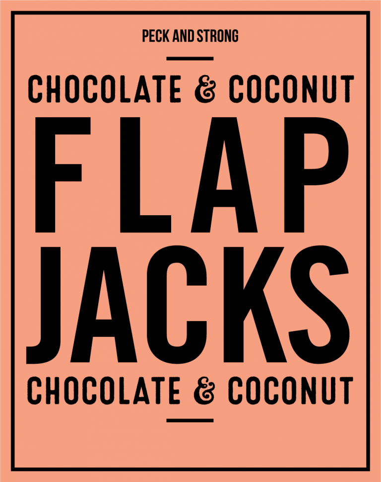 Chocolate & Coconut Flapjacks
