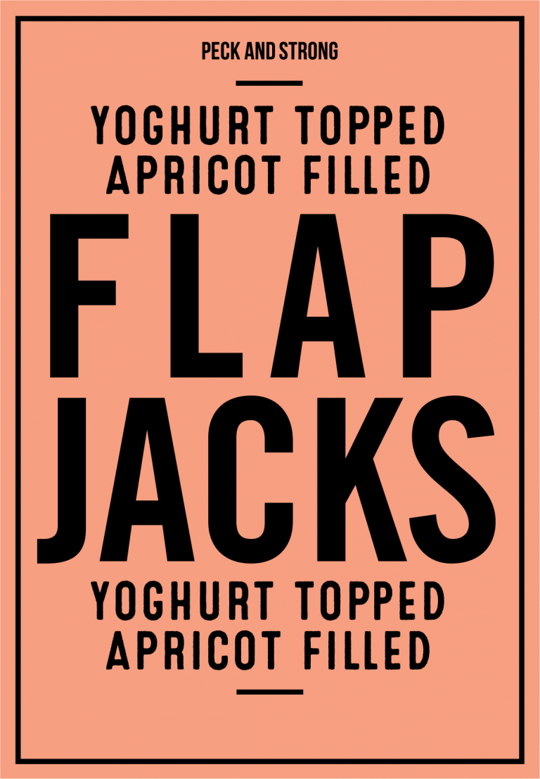 Yoghurt Topped Apricot Filled Flapjacks