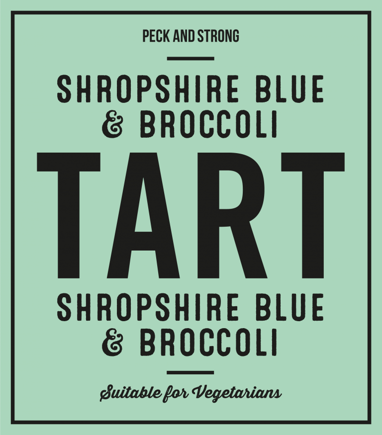 Shropshire Blue & Broccoli Tart